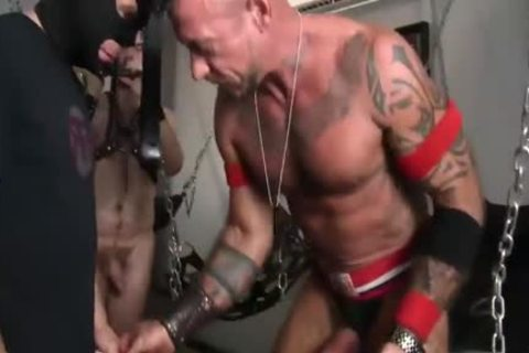 boyz In Leather Gear Do Some Barebacking In joy Chamber