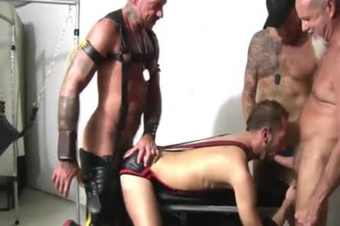 Foursome bare Sling banging Spit Roast