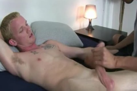 Grabbing His penis Adn Getting Him Off Like A Boss