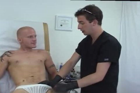 Doctor Fingering Patients anus