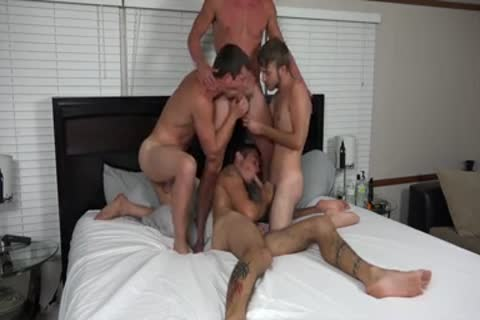 A couple AND TWO allies banging ON cam