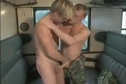 Military blond And educate