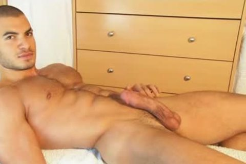 My straight Neighbour Made A Porn: Watch His biggest penis Serviced By A twink!