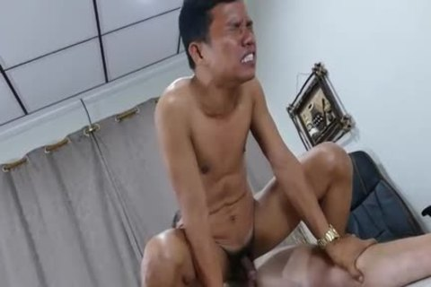 fascinating Daddy Chinese slamming And Slurping