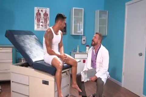 Bruno Bernal And Rocco Steele In unfathomable Examination