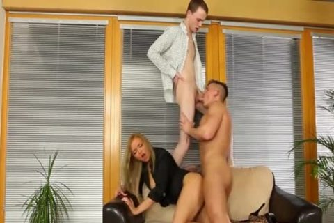 tasty Bisexuals pounding With A blonde