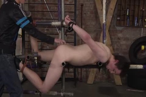 A bondman master acquires powerful On Eli admirable Teenage And delightsome arsehole