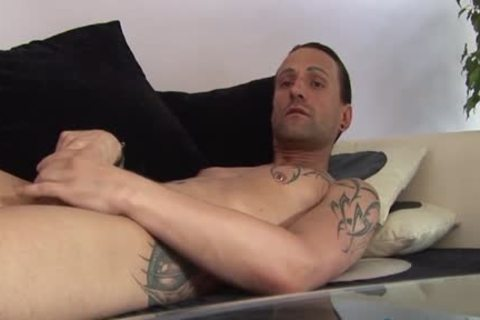 Jeff Paris Spends Some Quality Time Alone wanking His penis