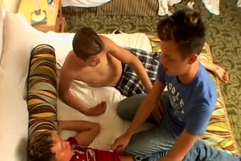 An astonishing twink threesome - Ayden James, Kayden Daniels & Ryan Connors