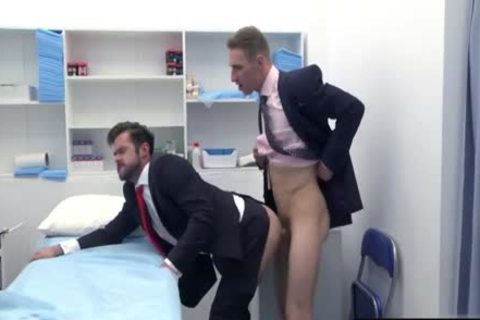 large knob Doctor ass invasion And cumshot