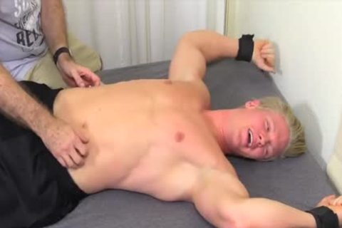 delicious And blond guy Named Seamus gets Tickled Hard