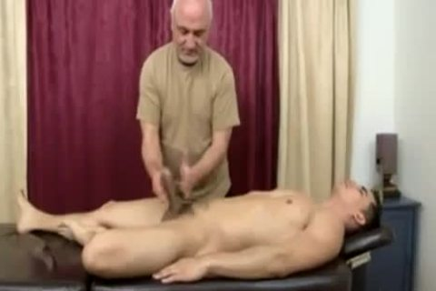 Topher Dimaggio Massage Turns Into An Dilf Oldie Grey man Slurping His Salami
