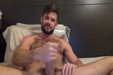 Mike De Marko Jerks His giant Porn penis