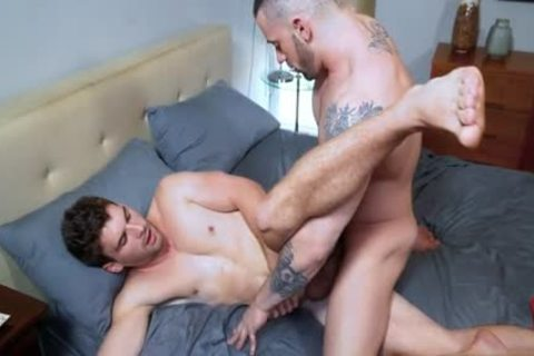 Muscle Wolf ass With cumshot