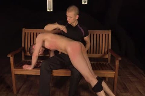filthy homosexuals spanking And sperm flow