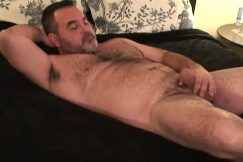 Daddy Bear Masturbation