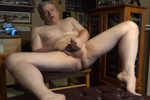 undressed 60 Year daddy Daddy Masturbating