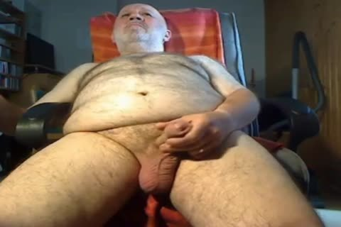 old man jerk off On webcam