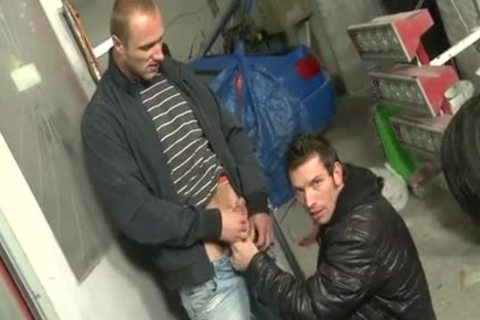 large penis Daddy Public Sex And Facial