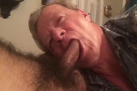 Fag Sucks BBC, Balls, butthole, And Takes two love juice facials