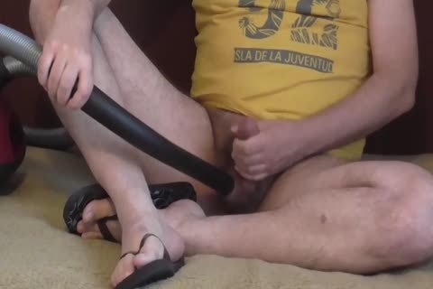 This twink loves To bang His Vacuum And cum