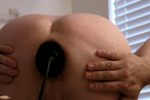 Sissy Kristen Gaping ass With enormous Buttplug   And Various toys