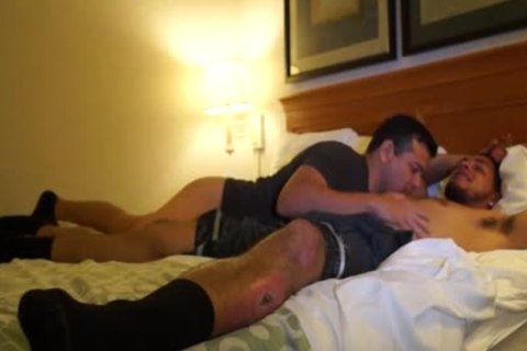 sweet Puerto Rican Straight lad fucks homo a-hole For
