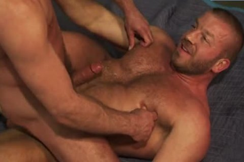 man Finder: Hunter Marx And Will Swagger - plowing  hole