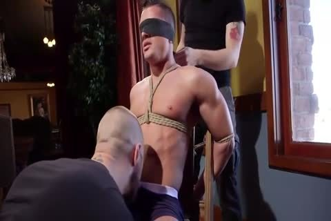 horny tied Down lad