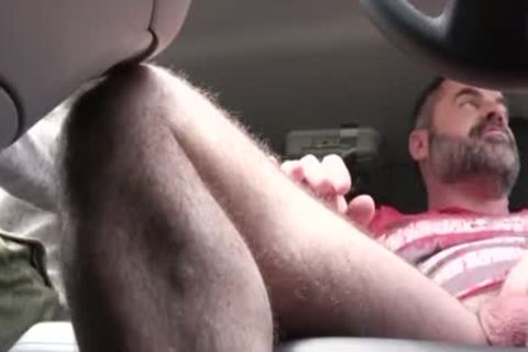 fine dad fucks His Step Son In A Car - FAMI
