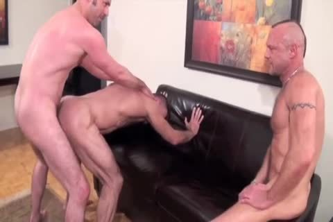 Chad, Mat, And Tony pound bare