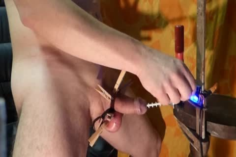 fucking Turn Notched weenie Machine Urethra cum Camera 1