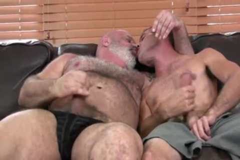 sweet bushy plump daddy bonks Hard His Son