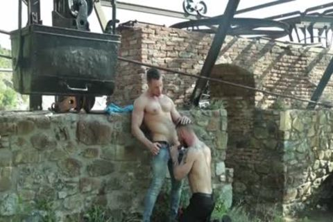 Russian homosexual Flip Flop And cumshot