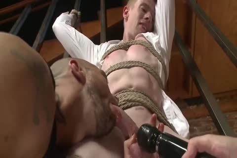 Luscious homosexual studs hard nailing