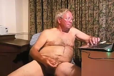 grand-dad spooge On web camera