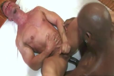 black twink Impales White Bodybuilder