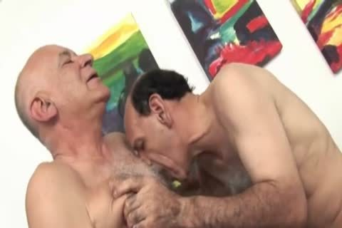 trio Sex With Grandpas