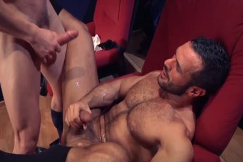 Muscle homo Flip Flop With sex cream flow