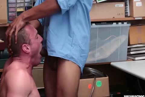 27 Year daddy Caucasian Male gets fucked For Stealing