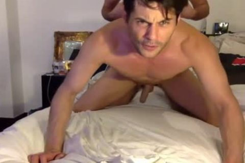 Real Male's anal raw penetrated Live On Cruisingcams Com