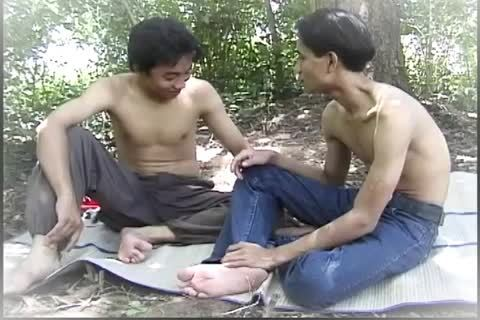 homo oriental males bone In A Jungle With Some Steamy Uncut oral cock engulfing Action