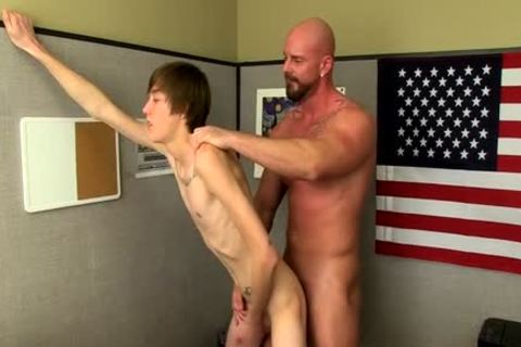 Muscle twinks ass-copulation With cumshot