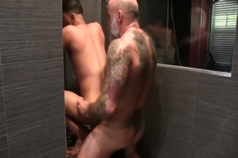 Nate And Cesar poke bare