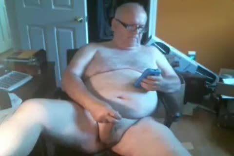 Grand-daddy cum On Web Camera
