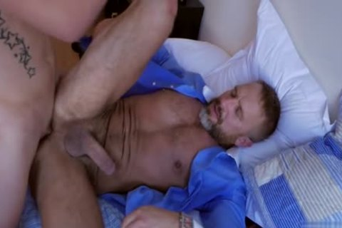 Latin Daddy anal job And cream flow