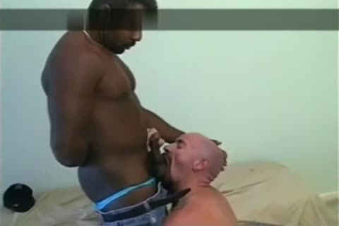 black Daddy's pleasing face hole And wazoo aperture