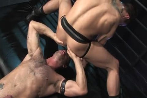 Muscle gay Flip Flop And anal ball cream flow