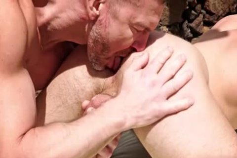 large weenie Dilf butthole sex With cumshot