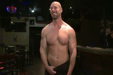 Muscle homosexual tied With spunk flow